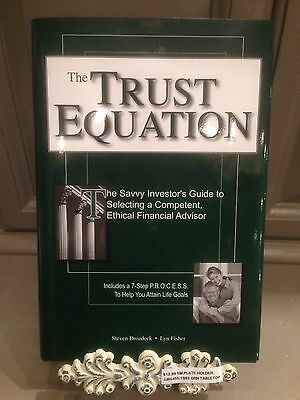 The Trust Equation   The Savvy Investors Guide To Selecting A Competent  Ethica
