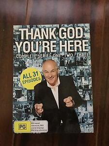 DVD thank god you're here complete series 1 2 3 Angle Park Port Adelaide Area Preview