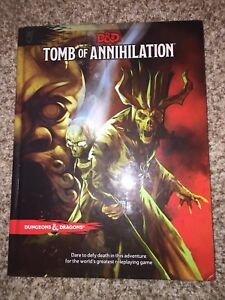Selling Tomb of Annihilation 5th Edition D&D Campaign Book!