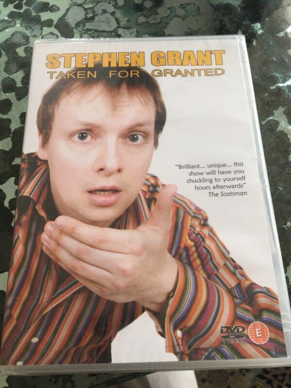 STEPHEN+GRANT+TAKEN+FOR+GRANTED++GENUINE+REGION+ALL+UK+DVD+NEW+FACTORY+SEALED