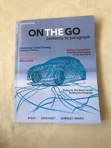ON THE GO: SENTENCE TO PARAGRAPH Book