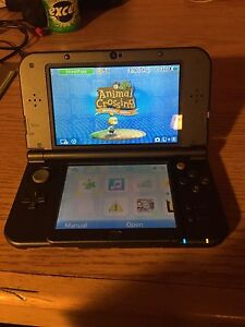New 3DS XL with 8 games
