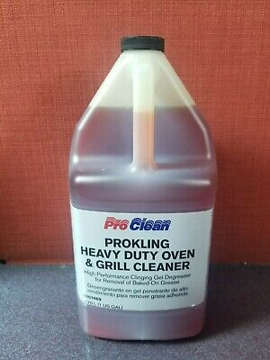 Degreaser 1 Gallon Bottle - ProClean Greasecutter 1 US Gallon Bottle heavy duty oven grill degreaser #4B3177