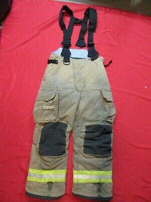 Mfg. 2010 38 X 29 Fire Dex Firefighter Turnout Bunker Pants Gear Rescue Safety