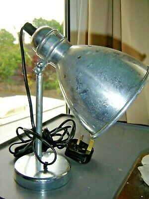 VINTAGE STYLE IKEA METAL DESK LAMP--WORKING ORDER