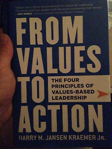 FOUR Principles of VALUE BASED LEADERSHIP: From Values to Action