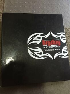 2006 Big Dog Chopper Service Manual