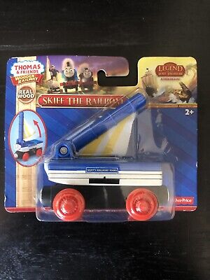 Thomas & Friends Wooden Railway, Skiff the Railboat Train Fisher-Price CDJ03