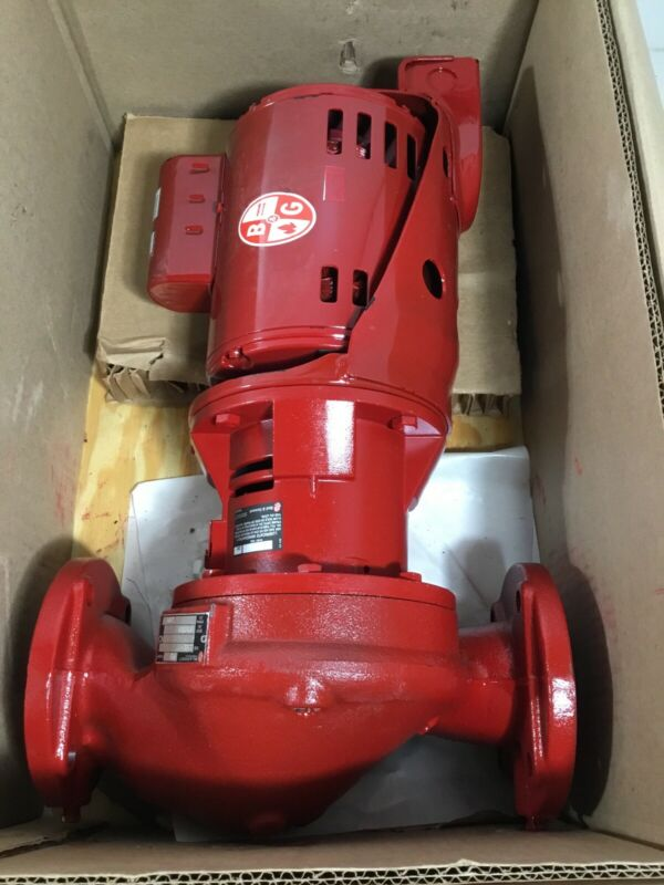 NEW BELL & GOSSETT PD-35S Hydronic Circulating Booster Pump, 115V, 1/2 hp; 4RD13