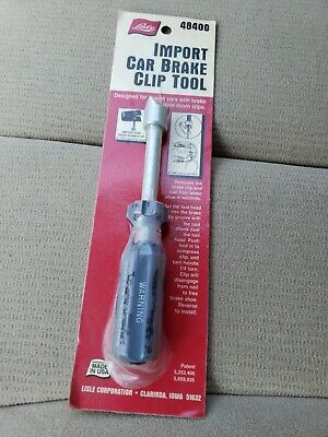 Lisle 48400 Brake Clip Tool Import Car Brake Clip Tool Lisle 48400
