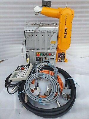 Staubli Cs7mb Sp Control Rx60bl Unimation Robot Teaching Cables Set
