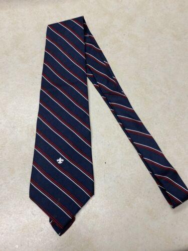 Official Boy Scout Striped Necktie