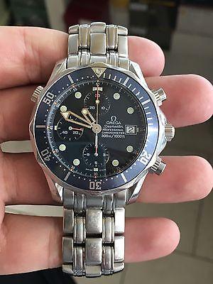Omega Seamaster Professional 300 Chronograph Titanium Watch Bond 2298.80.00