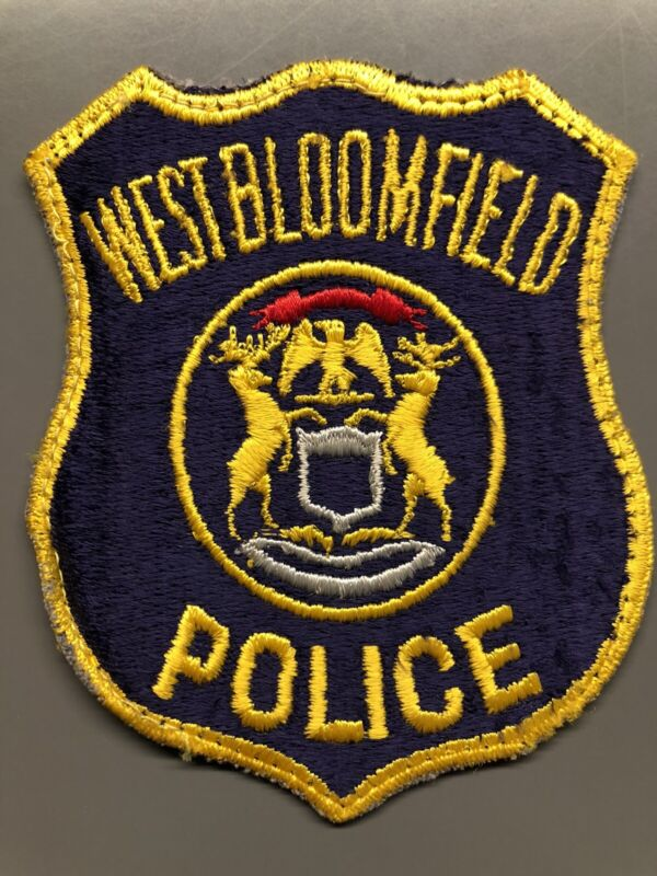 West Bloomfield Michigan Police Patch ~ Obsolete