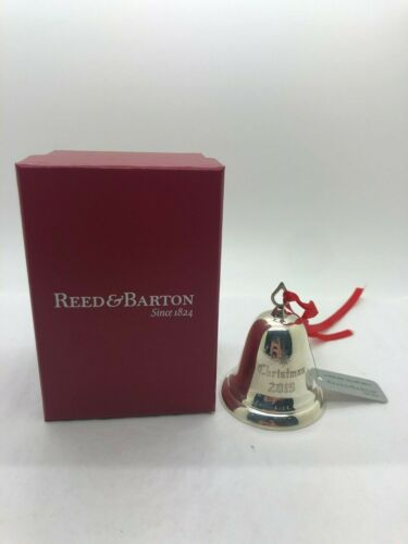Reed & Barton 2019 Sterling Silver Annual Christmas Bell Ornament