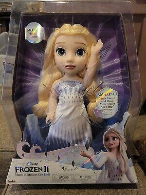 New Disney Frozen 2 Magic In Motion Elsa Doll sings - Show Yourself