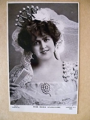 Postcard - Theater Actresses MISS MARIE STUDHOLME, No.1220