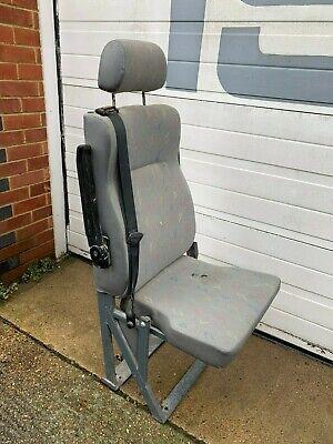 Minibus, Van, Coach, Bus, fold up seat with seat belt and headrest, armrest