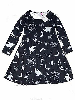 bnwt womens spiderweb black halloween dress by minx of london S/M