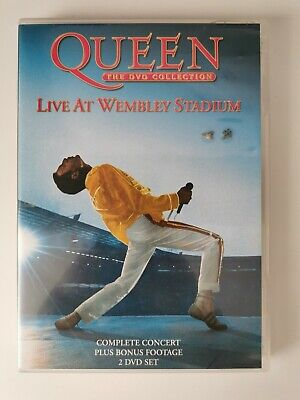 Queen The DVD Collection Live At Wembley Stadium