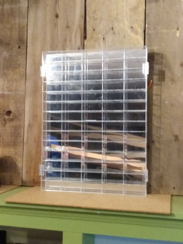 HO Scale Slot Car Display Case