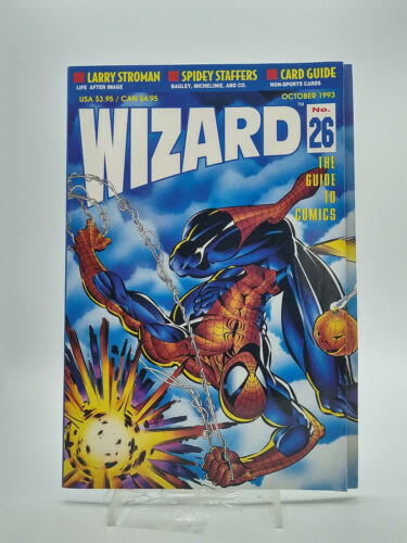 Wizard The Guide To Comics #26 1993 Used Free Shipping