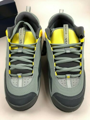 DC SHOES Stevie Williams OG Size 8 Grey/Yellow DEADSTOCK