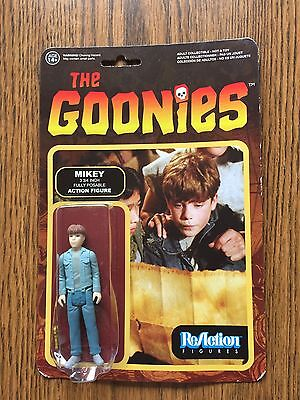 Funko The Goonies  Mikey  Reaction Figure Mint On Card