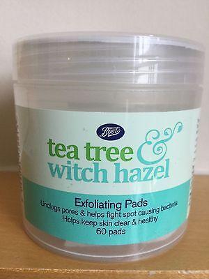 Boots Tea Tree & Witch Hazel Exfoliating Pads