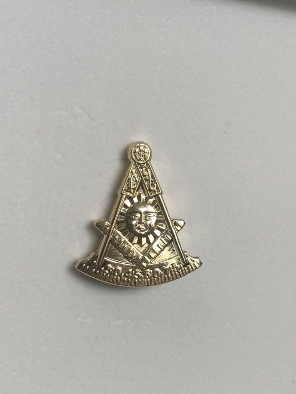 Masonic Past Master Lapel Pin Rare