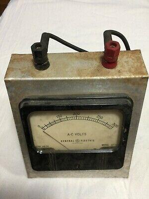 Vintage Ge General Electric High Voltage Test Set 300 Volts Tested