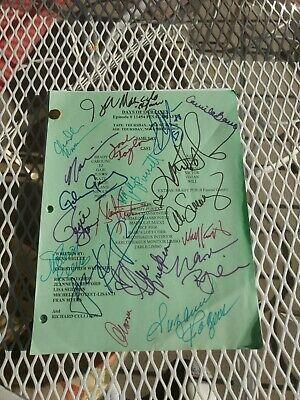 Script Original - Days of Our Lives, Cast signed, August 26, 2010 Vintage