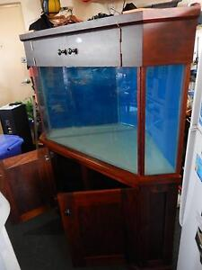 HEAVYDUTY GLASS AQUARIUM & TIMBER FRAME Corner Piece + Ope Door's Concord Canada Bay Area Preview