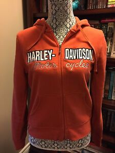 Harley ladies zip sweatshirt