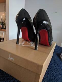 Christian Louboutin Neofilo Black Patent Leather Shoes