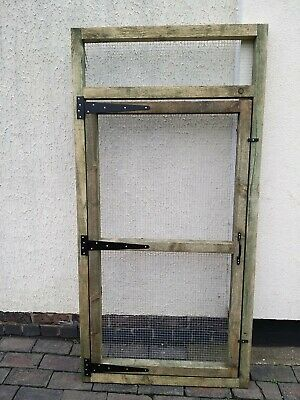 Aviary Door Panel