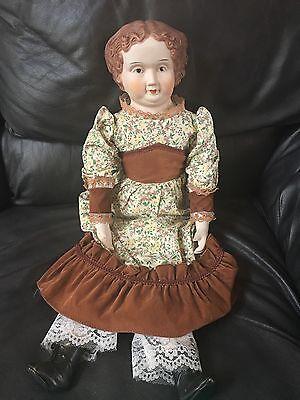 "Vintage HEARTFELDT 24"" Porcelain Doll ~ Collectible ~ RARE"