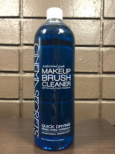 Cinema Secrets Professional Grade MakeUp Brush Cleaner Quick Dry No Rinse 32oz