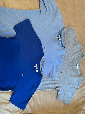Boys Lacoste Tees Size 14
