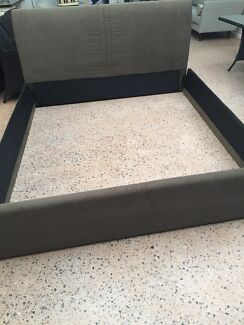 BARGAIN - Gorgeous Suede Bed Frame