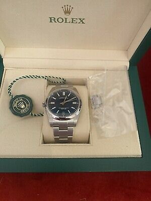 Rolex Oyster Perpetual Blue 41mm