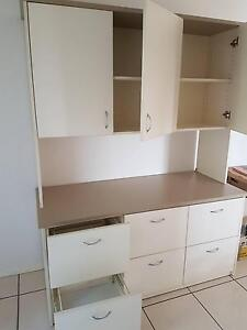Office File Drawer & Overhead Cupboard Unit - Custom Made Office Mudgeeraba Gold Coast South Preview
