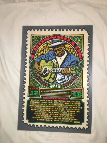 2013 Crossroads Guitar Festival Poster by Ron Donovan S/N #28/600