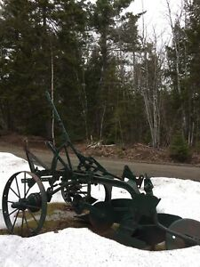 Antique Garden Plow