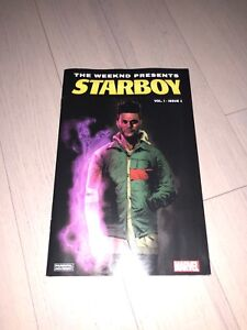 Rare Online Version Cover Starboy Marvel Comic Weeknd