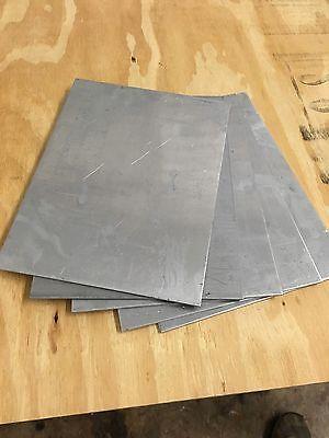 8 X 10.5 X .125 3003 H14 Aluminum Sheet 5 Pcs