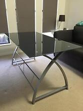 Contemporary Glass Study Desk Redlynch Cairns City Preview