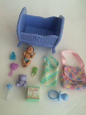 Mattel Happy Family Barbie baby & Accessories