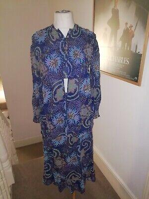 St Michael Vintage Floral 100% Cotton/skirt/top/jacket phool indian hippie ibiza