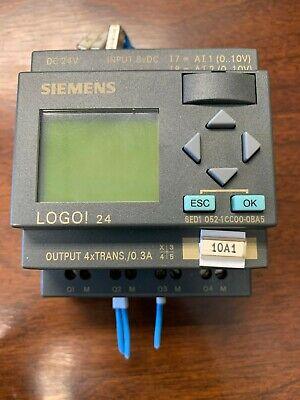 Siemens Logo 24 Szvt0mt010050 24v